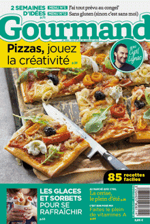 Proposition de couverture Gourmand