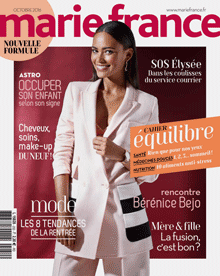 Couverture Marie France septembre N°252