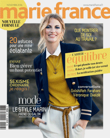 Couverture Marie France septembre N°253